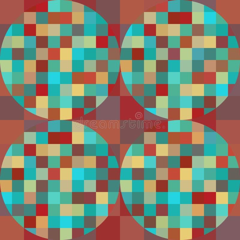 Безшовная геометрическая картина стоковое фото rf