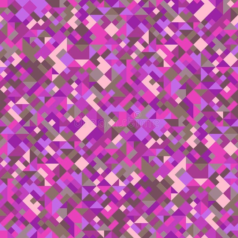 Безшовная геометрическая предпосылка картины - абстрактный дизайн вектора бесплатная иллюстрация