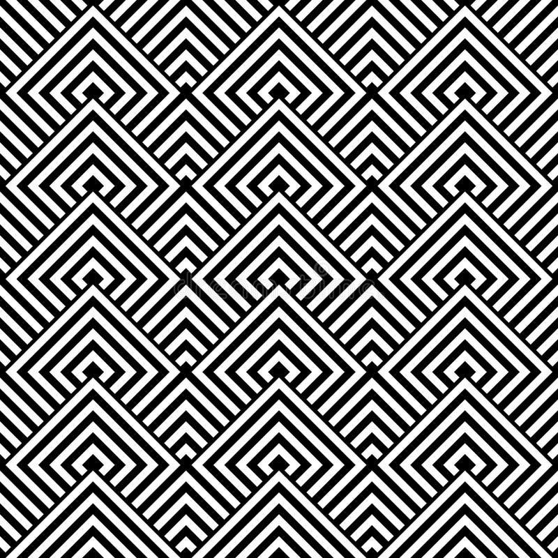 Безшовная геометрическая текстура. иллюстрация штока