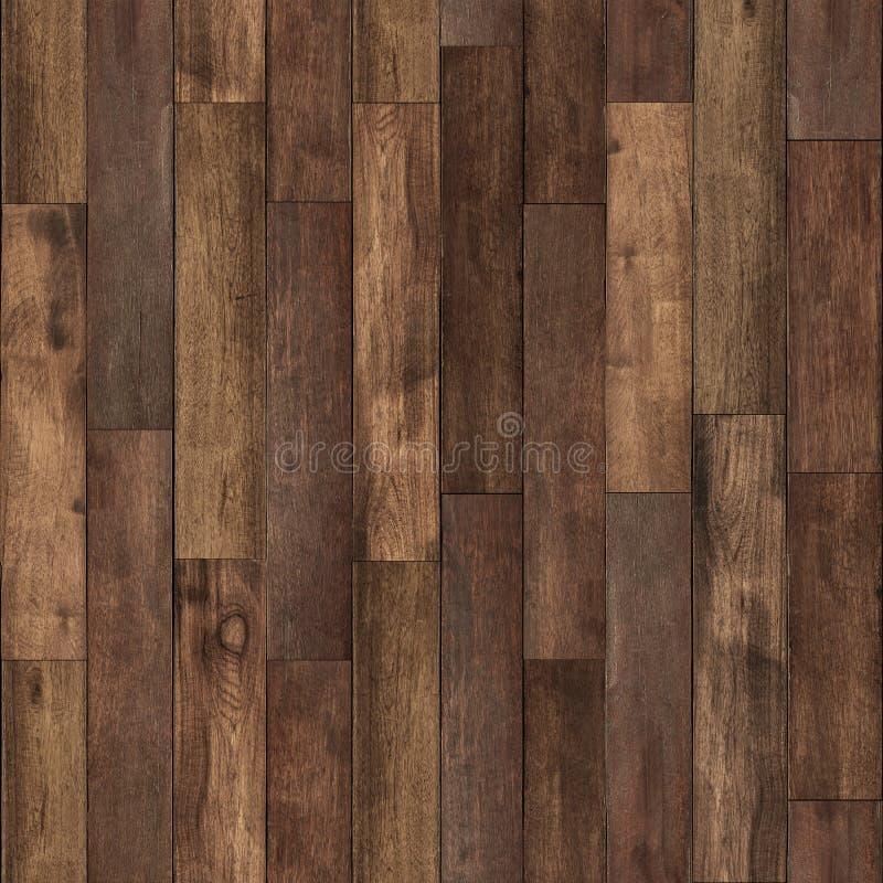 Безшовная деревянная текстура пола стоковые изображения rf
