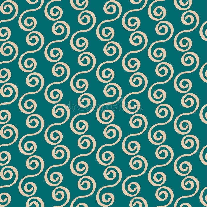 Безшовная картина, абстрактная предпосылка вектора иллюстрация вектора