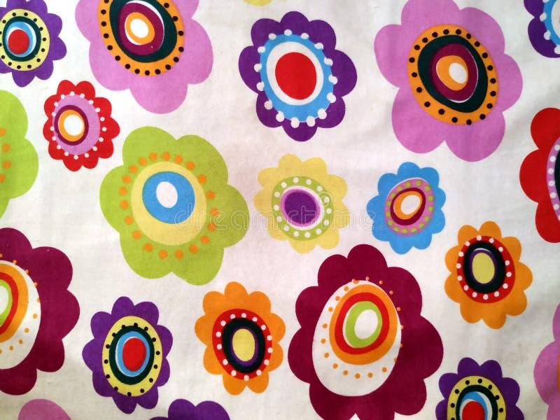 Безшовная картина в ретро стиле Предпосылка конспекта флористическая восточная текстурированная для scrapbook стоковые фото