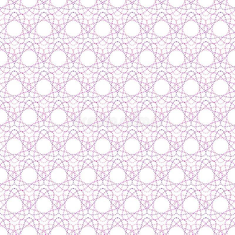 Безшовная картина геометрических покрашенных форм бесплатная иллюстрация