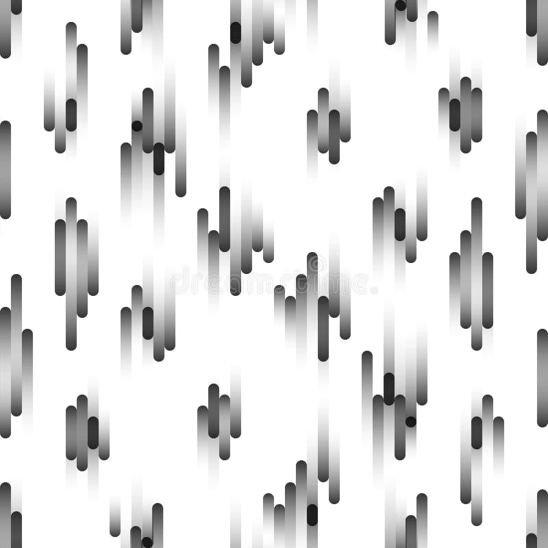 Безшовная картина двигать частиц Абстрактная предпосылка в ярких цветах также вектор иллюстрации притяжки corel бесплатная иллюстрация