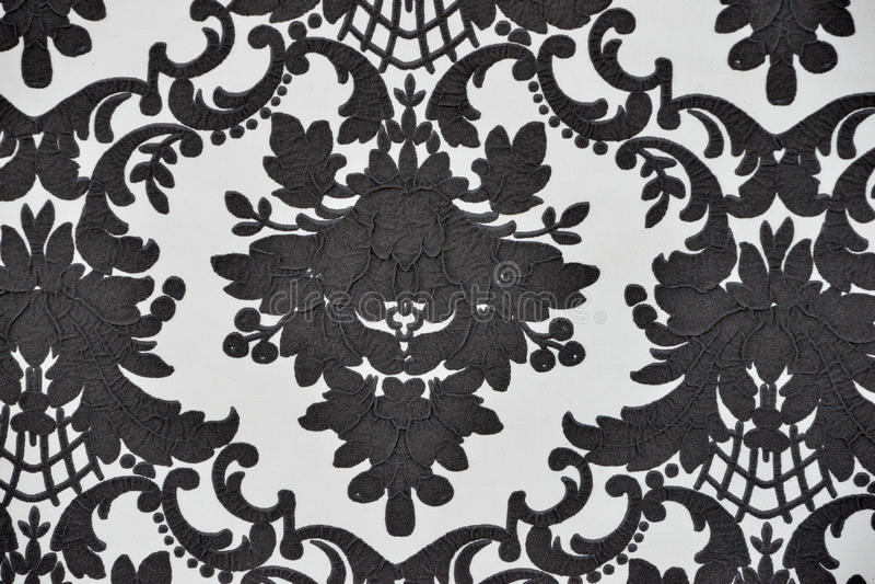 Безшовная картина обоев, изолированная чернота, стоковые фотографии rf