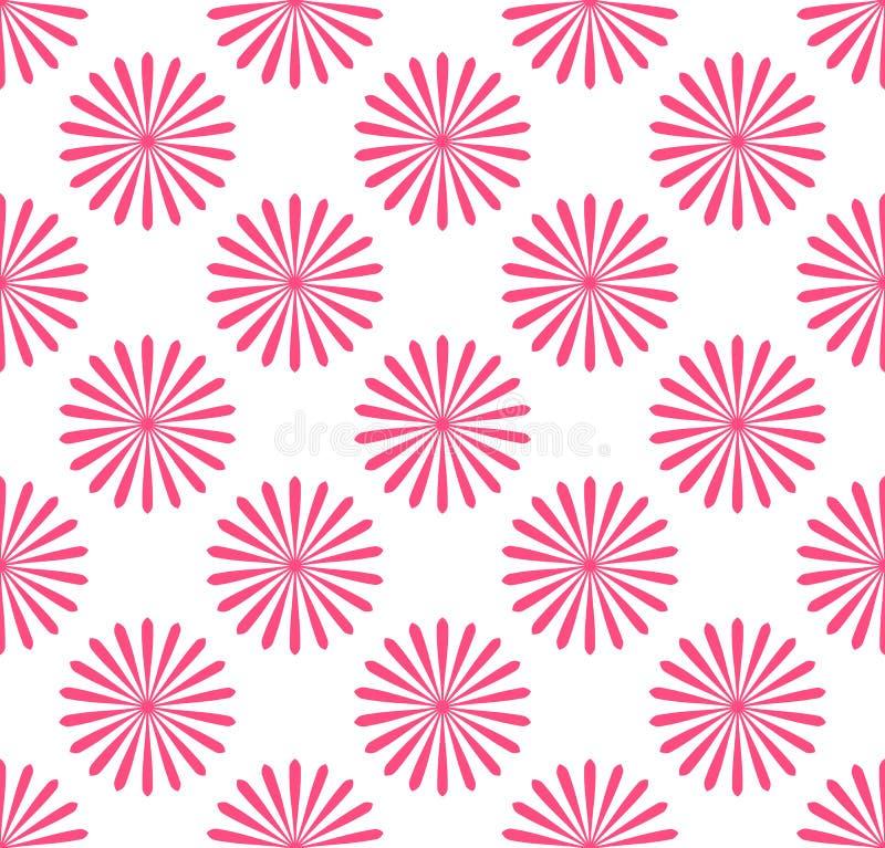 Download Безшовная картина, обои с мотивами цветка Простое Monochrom Иллюстрация вектора - иллюстрации насчитывающей декор, ткань: 81806062