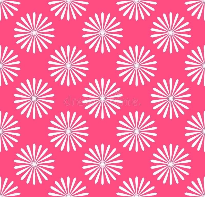 Download Безшовная картина, обои с мотивами цветка Простое Monochrom Иллюстрация вектора - иллюстрации насчитывающей мило, мотивы: 81806072
