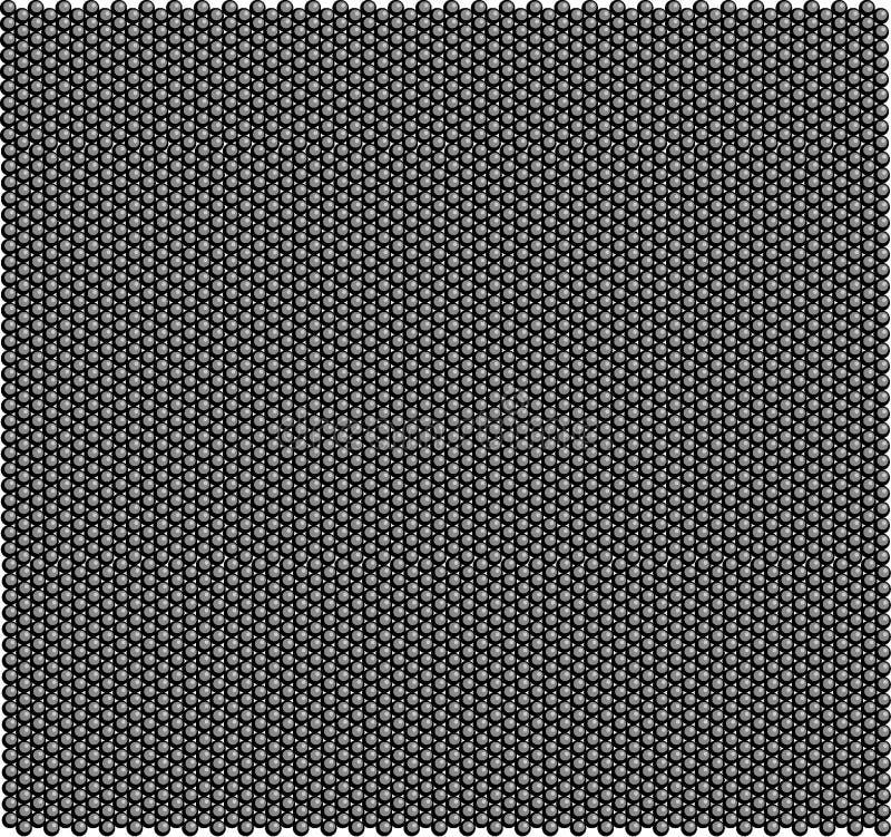 Безшовная картина плотно положенных малых шариков бесплатная иллюстрация
