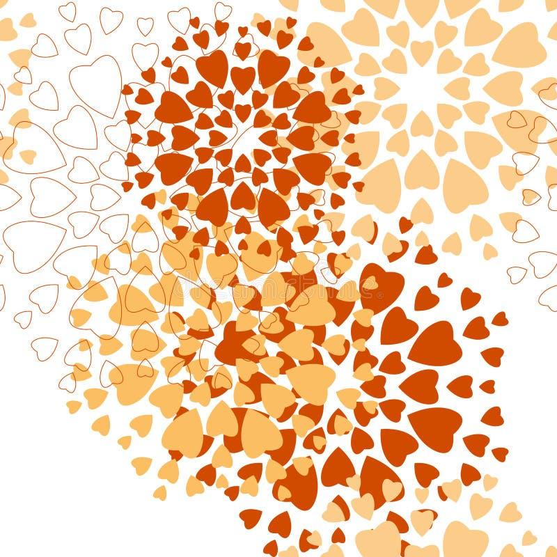 Безшовная картина, семена калины бесплатная иллюстрация