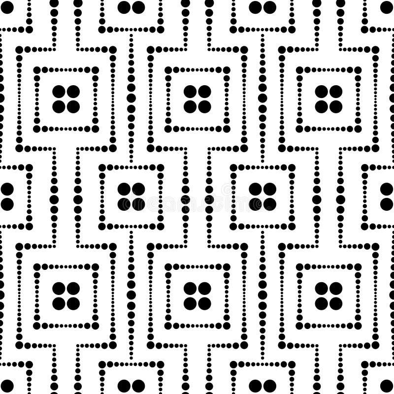 Безшовная картина сетки точек бесплатная иллюстрация