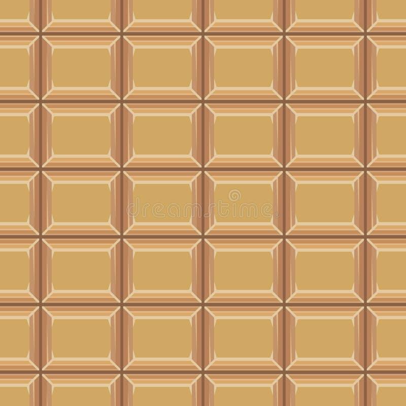 Безшовная картина с шоколадом texture-2 иллюстрация штока