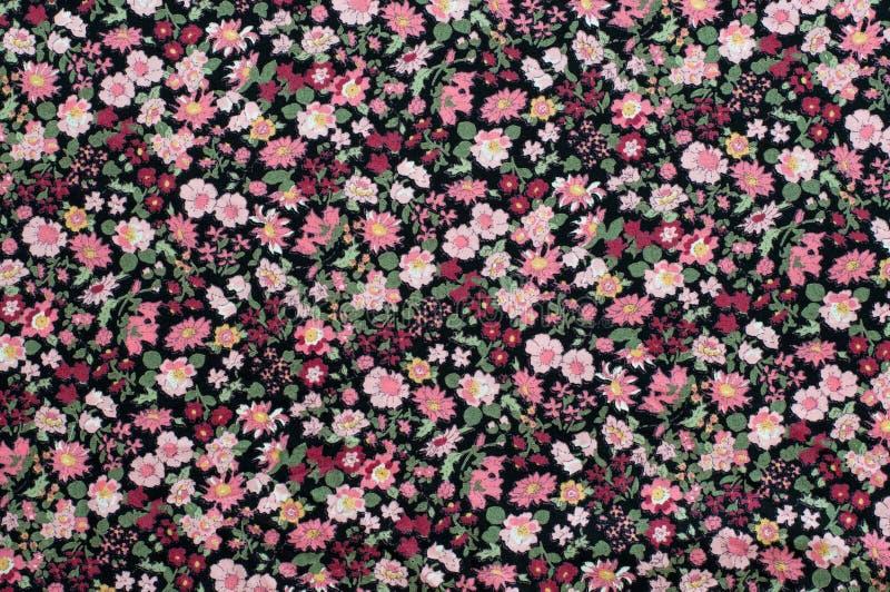 Безшовная картина, флористическая предпосылка ткани. стоковые фотографии rf