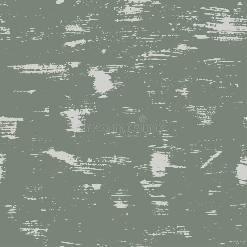 безшовная картина grunge с пятнами и царапинами иллюстрация вектора