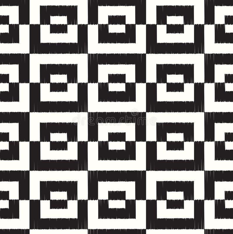 Безшовная квадратная геометрическая картина бесплатная иллюстрация