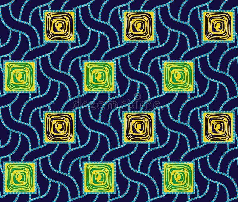 Безшовная красочная геометрическая картина бесплатная иллюстрация