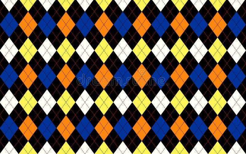 Безшовная красочная предпосылка картины треугольника геометрии E стоковые изображения