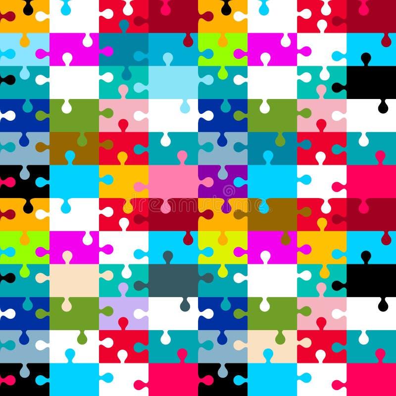 Безшовная мозаика вектора иллюстрация вектора