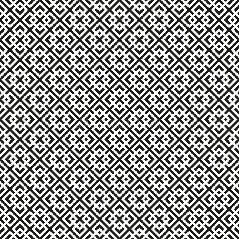 Безшовная предпосылка картины вектора решетки стиля Арт Деко иллюстрация вектора