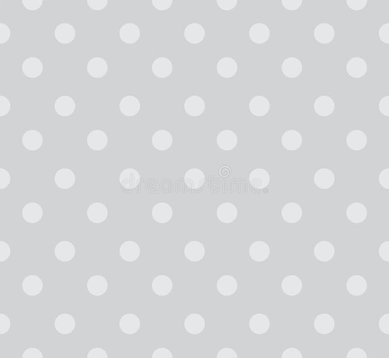 Безшовная предпосылка картины точек польки абстрактная предпосылка иллюстрация вектора
