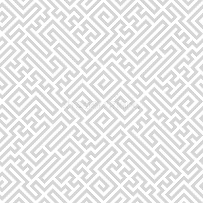 Безшовная простая винтажная картина Этническим backgrou текстурированное вектором иллюстрация штока
