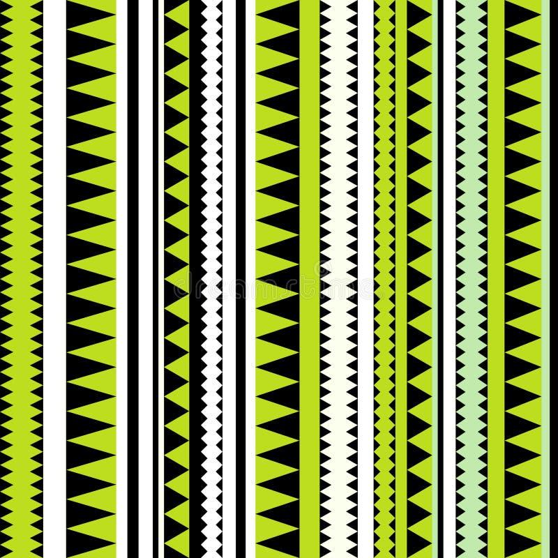 Безшовная племенная текстура. Племенная картина. Красочное striped этническое бесплатная иллюстрация
