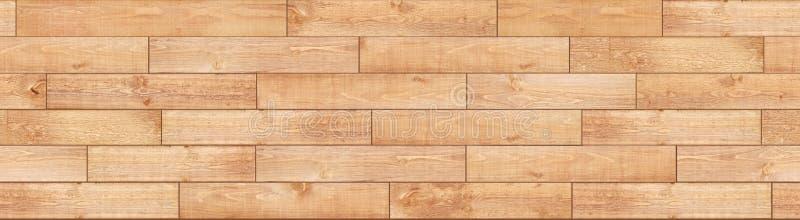 Безшовная светлая деревянная текстура пола Деревянный партер настил стоковые фотографии rf