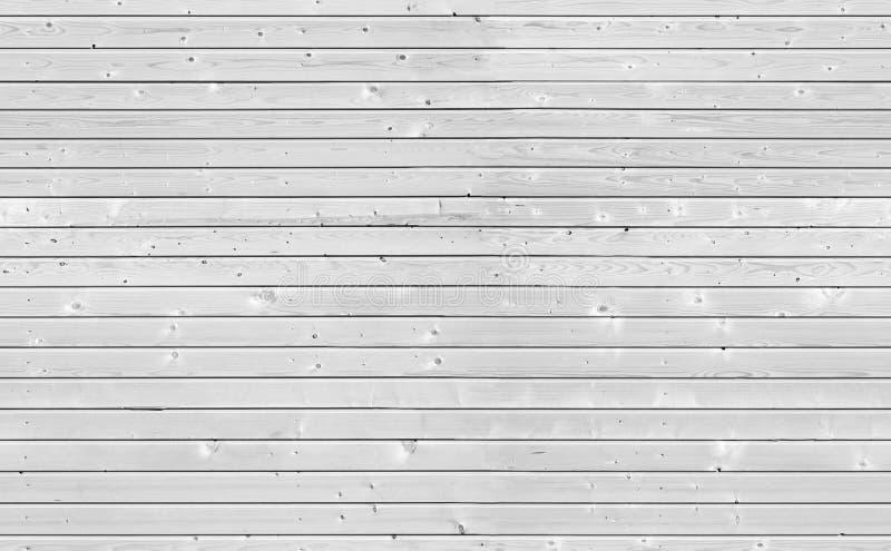 Безшовная текстура белой деревянной стены стоковая фотография