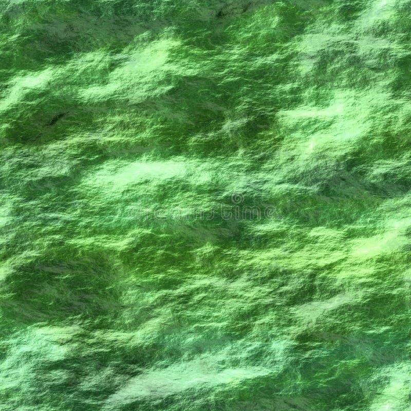 Безшовная текстура воды с цианобактерией иллюстрация штока