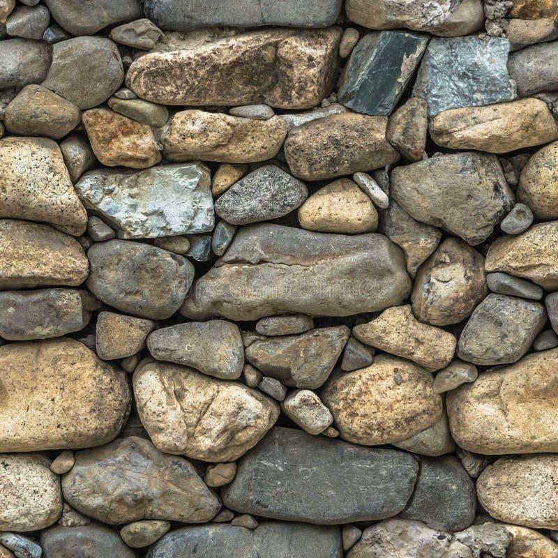 Безшовная текстура камней различных размеров стоковое изображение rf