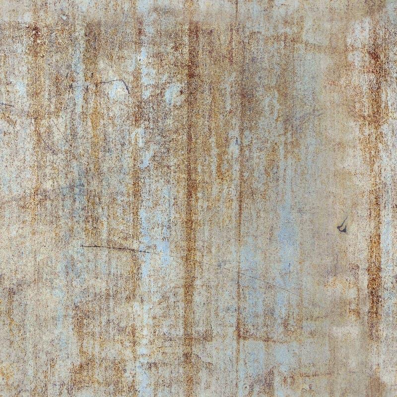 Безшовная текстура металла с ржавчиной стоковые изображения