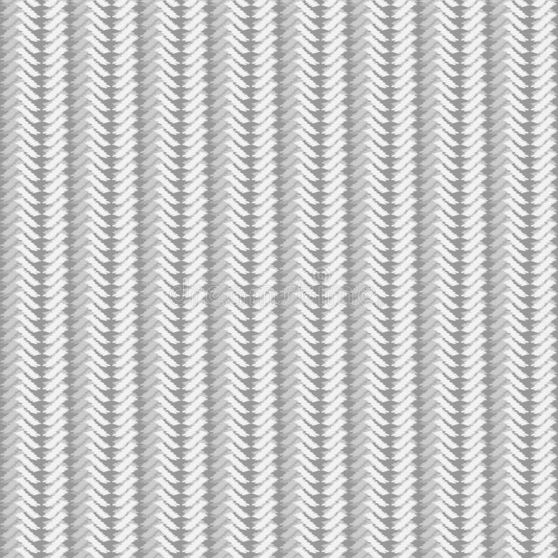 Безшовная текстура света связала ткань грубого knit иллюстрация штока