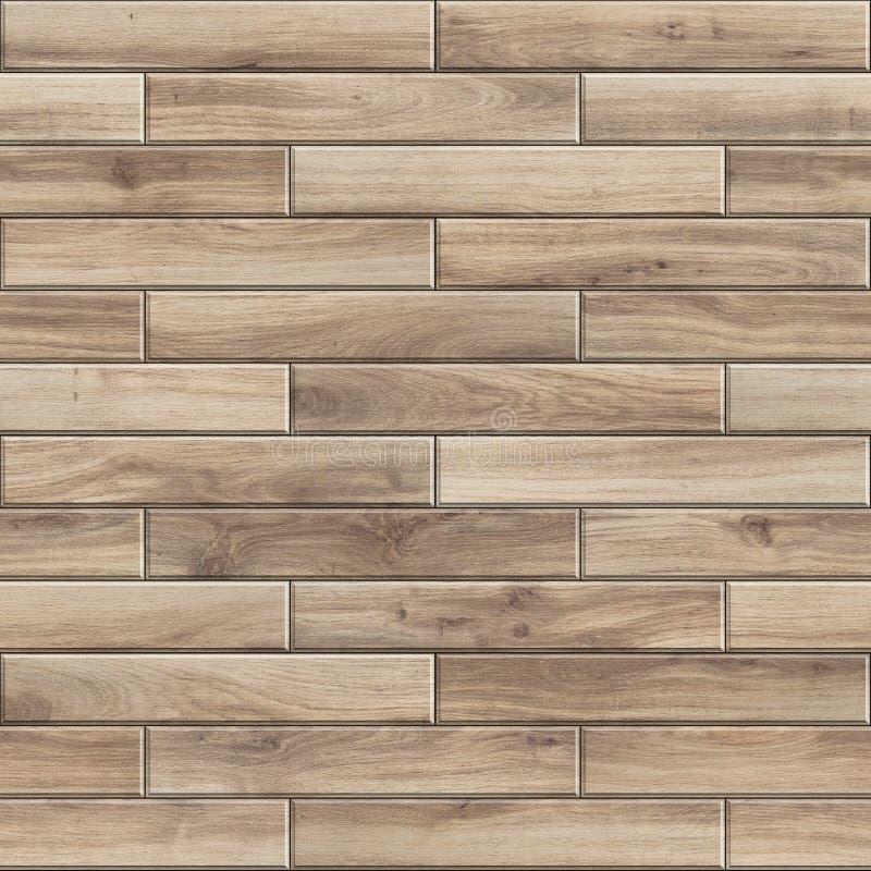 Безшовная текстура светлого естественного деревянного партера Высокая картина разрешения striped древесины иллюстрация штока