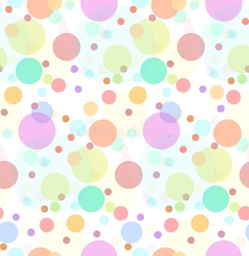 Безшовная текстура с прозрачными пестроткаными помадками бесплатная иллюстрация