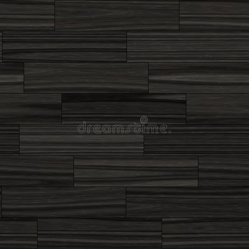 Безшовная темная деревянная иллюстрация текстуры партера иллюстрация штока