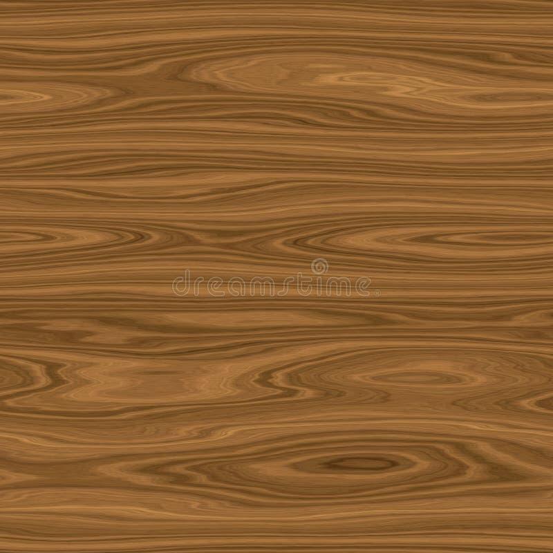Безшовная темная произведенная древесина нанимает текстуру иллюстрация вектора
