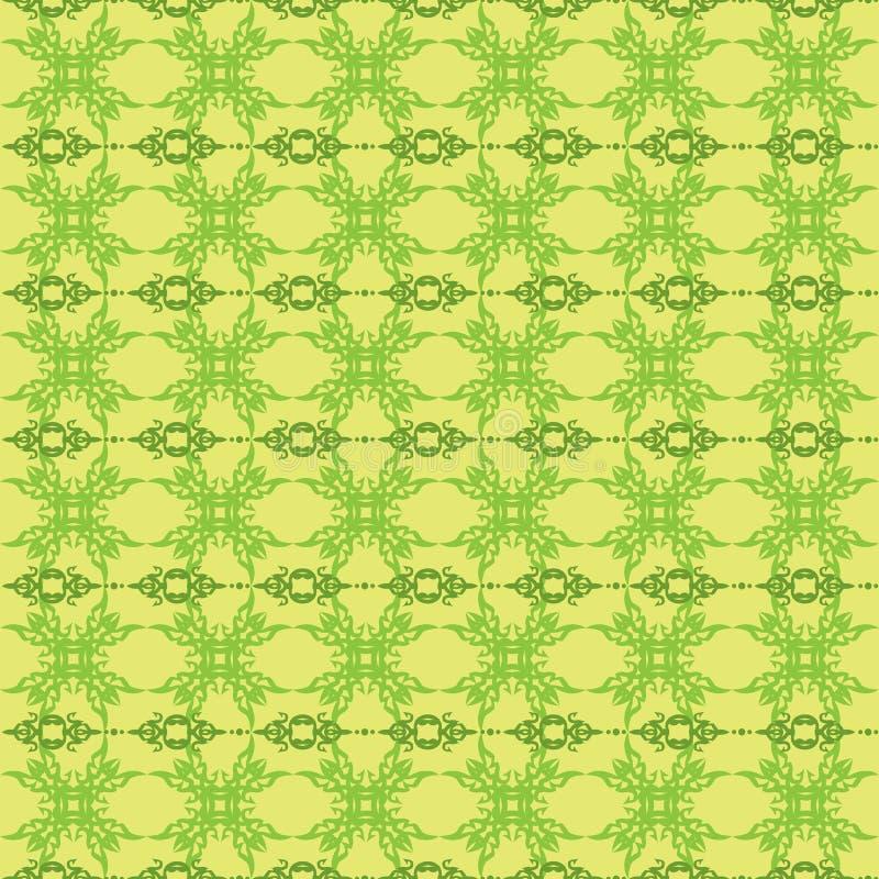 Безшовная флористическая картина иллюстрация вектора