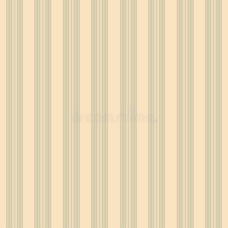 Безшовная чувствительная винтажная картина иллюстрация вектора