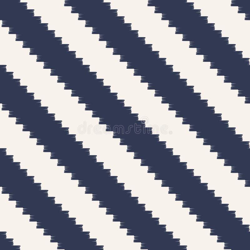 Безшовная pixelated раскосная картина нашивок иллюстрация штока