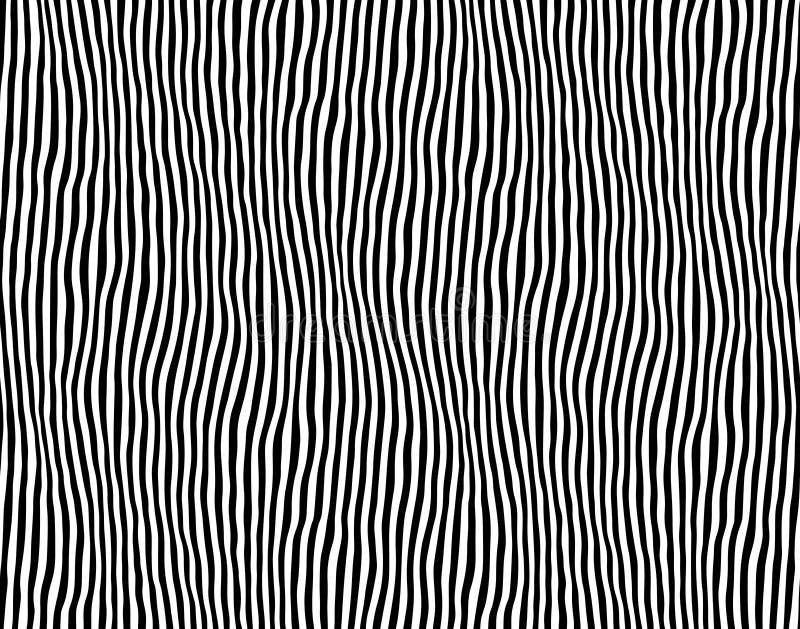 Безшовная striped картина Линия иллюстрация зебры вектора r иллюстрация вектора