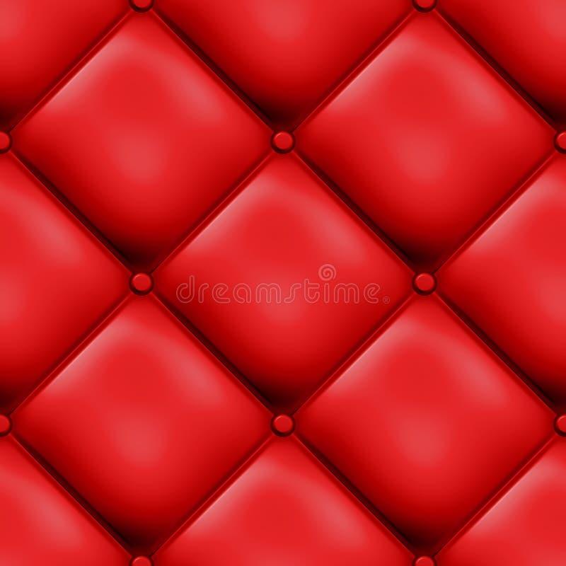 безшовное проложенное конструкцией красное иллюстрация штока