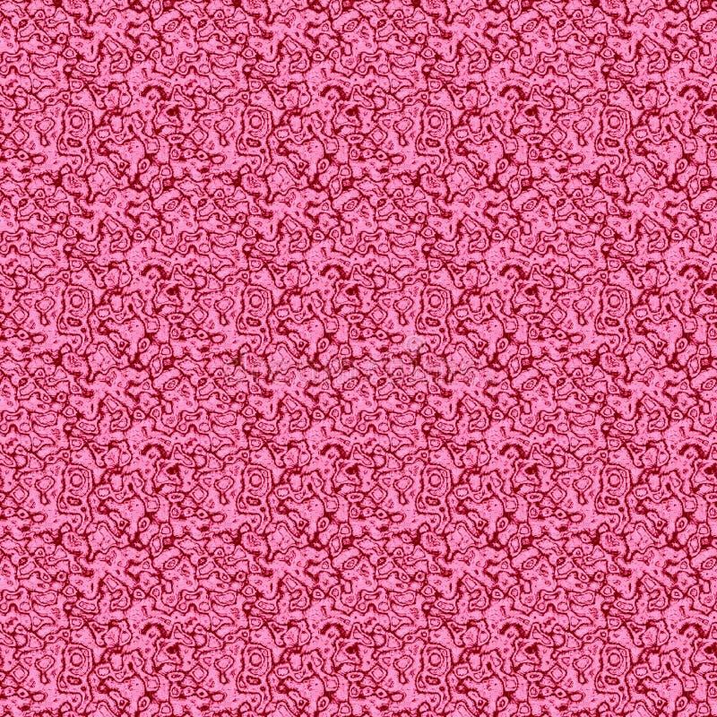 Безшовное розовое patern с стеклянной текстурой иллюстрация штока