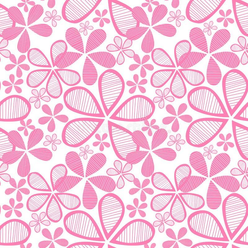 безшовное цветков розовое бесплатная иллюстрация