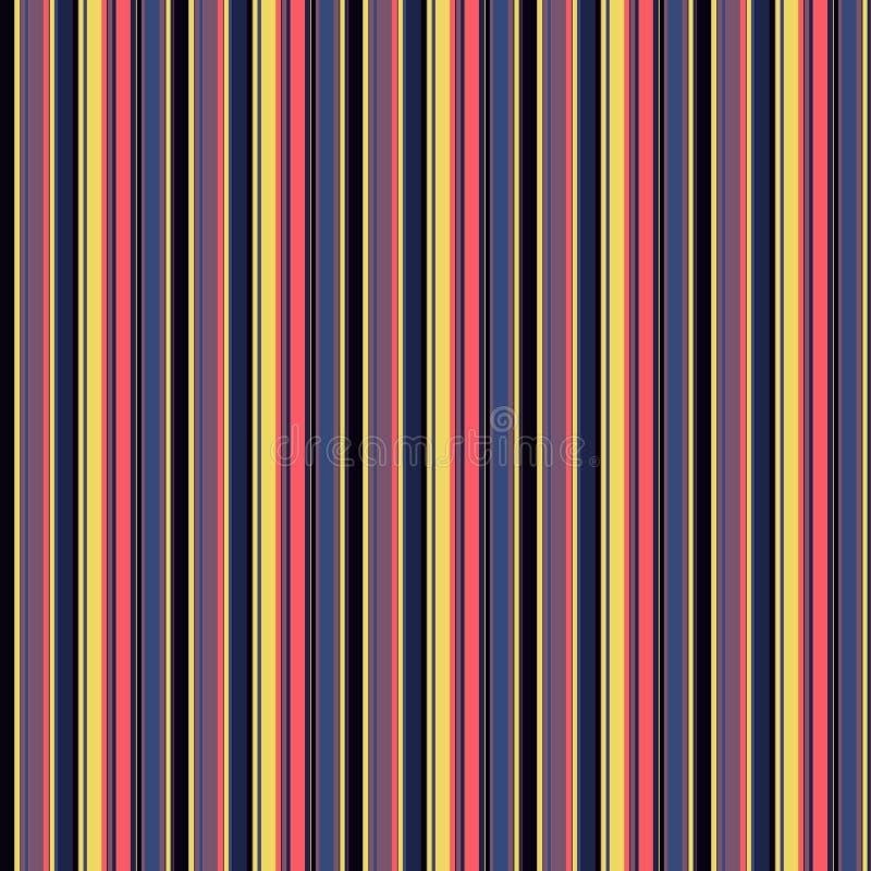 Безшовные нашивки делают по образцу текстуру предпосылки вектора красочную вертикальную винтажную ретро иллюстрация штока