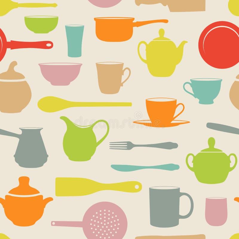 Безшовные тарелки бесплатная иллюстрация