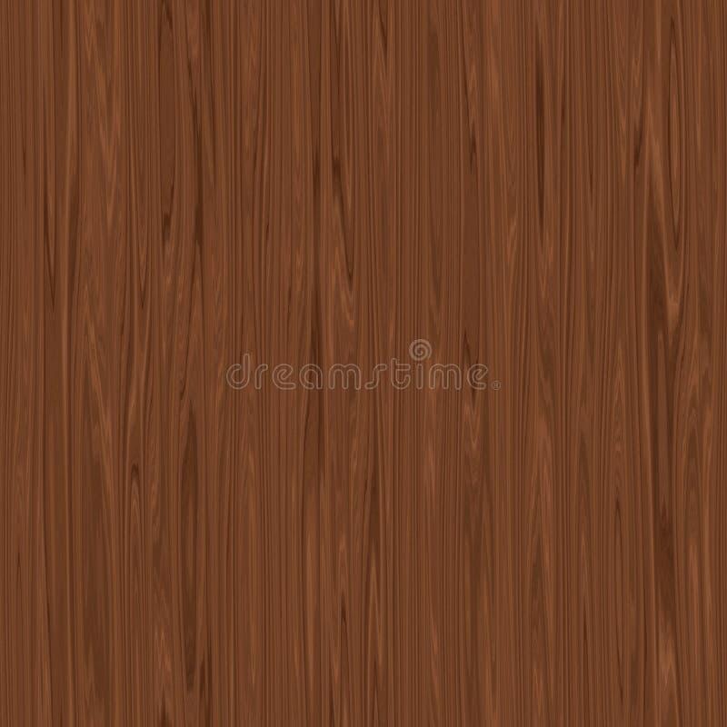 Безшовные темные деревянные текстура или предпосылка бесплатная иллюстрация