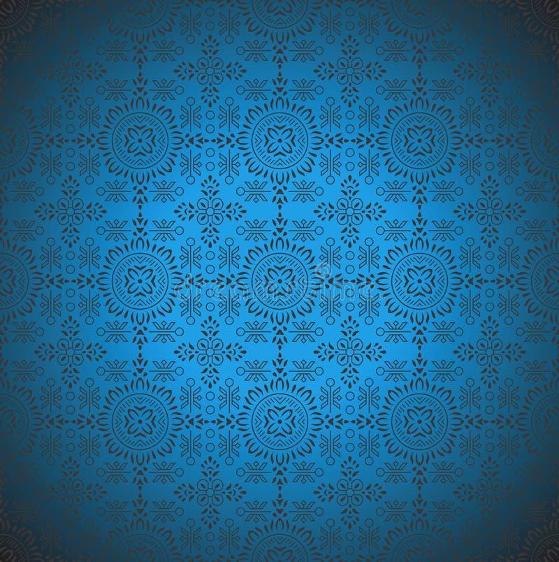 Безшовные традиционные обои вектора взгляда иллюстрация вектора