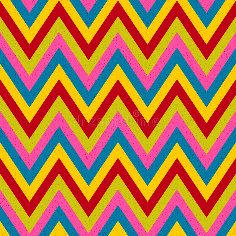 Безшовный зигзаг stripes картина бесплатная иллюстрация