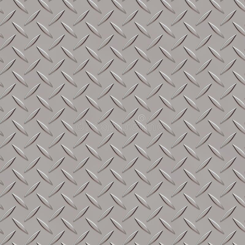 Безшовный косоугольник текстуры металла формирует 3 стоковые изображения rf