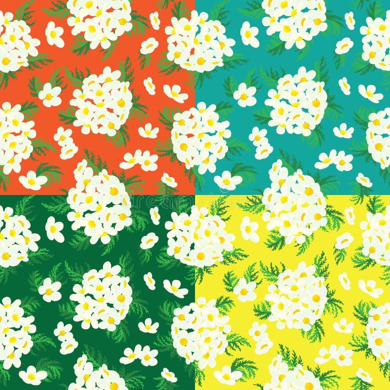 Безшовный цветочный узор стоцвета стоковое изображение rf