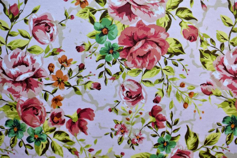 Безшовный цветочный узор с цветками красивыми стоковая фотография